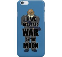 War on the Moon iPhone Case/Skin