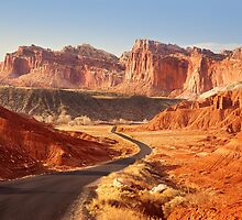 Entryway to Capitol Reef National Park by carolynrauh