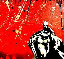 Dark Knight, Red Night by natureboy1992