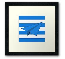 Paper Airplane 41 Framed Print