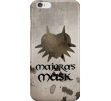 Faded Majora's Mask iPhone Case/Skin