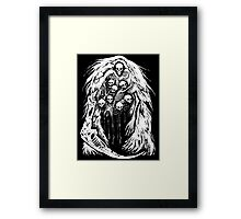 The Gravelord Framed Print