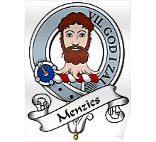 Menzies Clan Badge Poster