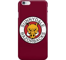 Sunnydale Razorbacks Series 1-3 iPhone Case/Skin