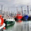 Grey day at the Harbor..... by Poete100