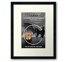 The Lord Of The Rings - The Return Of The King Framed Print