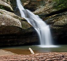 Cedar Falls in the Hocking Hills by Kenneth Keifer