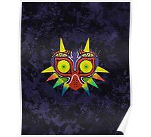 Majora's Mask Splatter Poster
