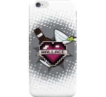 Heart Crest-Wallace iPhone Case/Skin
