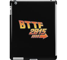 Back to the future 2015 Logo iPad Case/Skin