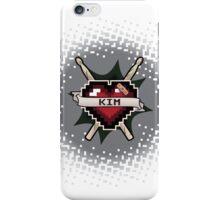 Heart Crest - Kim iPhone Case/Skin