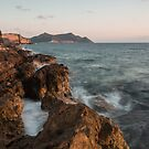 Methoni Sunset by James Grant