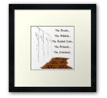 The Club Framed Print