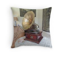 Sounds of History Throw Pillow