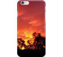 Fiery sunrise - Howrah, Tasmania iPhone Case/Skin
