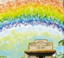 Rainshine over Morawa : Panel II by Elizabeth Sheppard