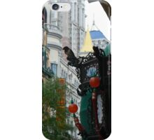 crowding downtown iPhone Case/Skin
