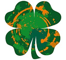 Cool Lucky clover and Ink Nr. 03 Photographic Print