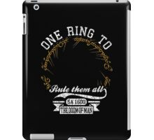 One ring to.. iPad Case/Skin