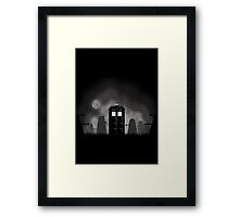 Scary night Framed Print