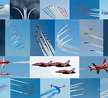 Red Arrows 2014 - 50 Display Seasons by © Steve H Clark