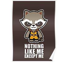 Talking Raccoon Poster