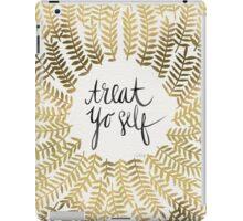 Treat Yo Self (Gold) iPad Case/Skin