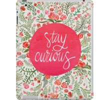 Stay Curious – Pink & Green iPad Case/Skin