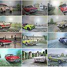 12 Classic British Cars by JohnLowerson