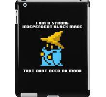 Strong Black Mage iPad Case/Skin