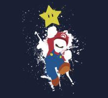 Super Mario Splattery T-Shirt Kids Clothes