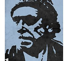 Hero - Charles Bukowski by 1974design