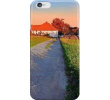 Early summer morning hiking trip   landscape photography iPhone Case/Skin