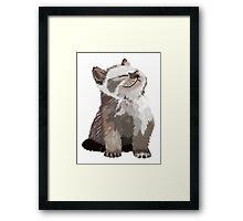 little cat Framed Print