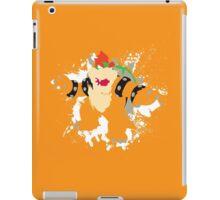 Bowser splattery vector T iPad Case/Skin
