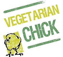 Vegetarian Chick by thepixelgarden