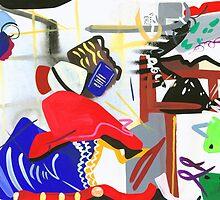 Abstract Interior #1 by Lisa V Robinson