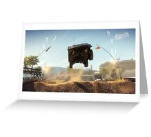 Dirt 2 Greeting Card