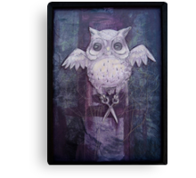 Ghost Stitches Canvas Print