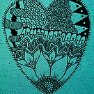 Heart Floral by tropicalsamuelv