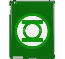 Green Lantern Symbol iPad Case/Skin