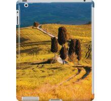 Golden fields of Toscany iPad Case/Skin