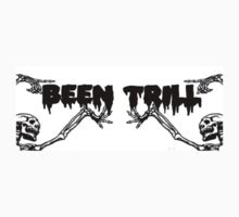 BEEN TRILL SKULL AND BONES by Rare666