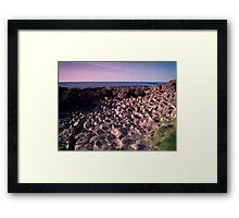 The Pentagon Rocks Framed Print