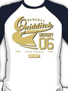 Cedric Diggory - Quidditch T-shirt (Dirty Version) T-Shirt