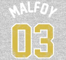 Draco Malfoy - Quidditch Shirt - NO.3 Kids Clothes