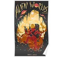 Alien Worlds Poster
