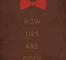 Bow Ties Are Cool Case by foureyedesign