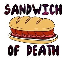 Sandwich of Death by bethsemporium