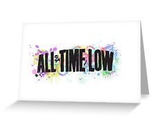All Time Low Greeting Card